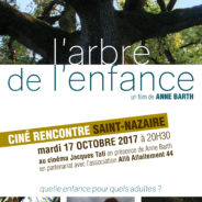 Projection du film « L'arbre de l'enfance » 17 Octobre 2017